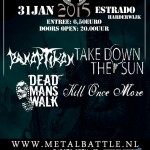 flyer - MetalBattle voorronde Gelderland